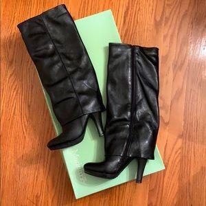 Madeline Stuart Faux Leather Heeled Boots